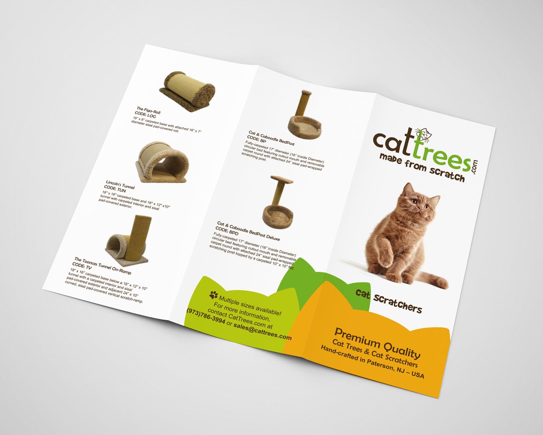 Cat Trees Brochure Design a