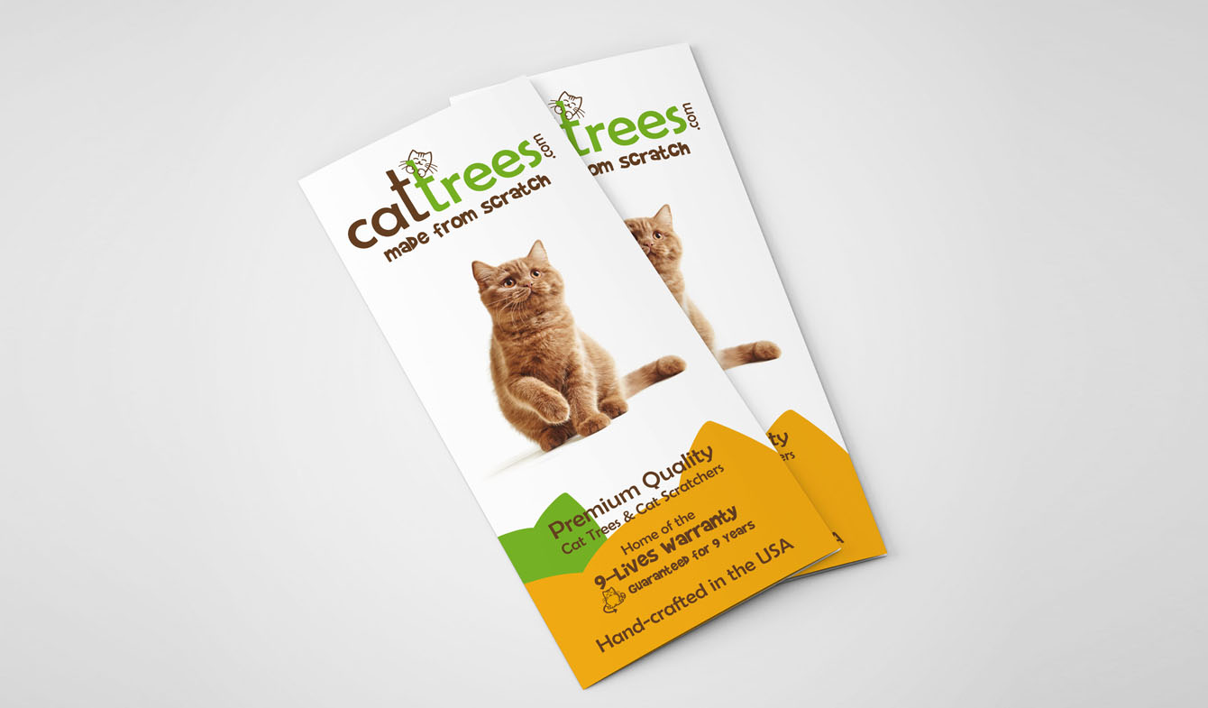 Cat Trees Brochure Design a