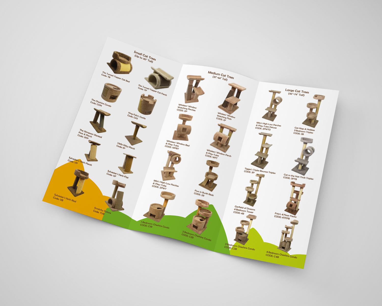 Cat Trees Brochure Design b
