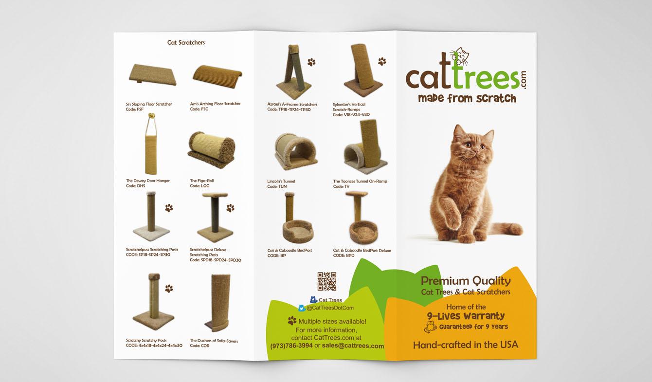 Cat Trees Brochure Design b