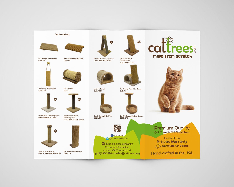 Cat Trees Brochure Design c