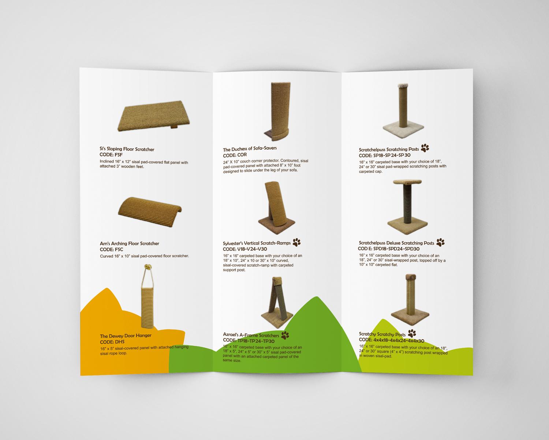 Cat Trees Brochure Design h
