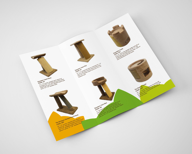 Cat Trees Brochure Design j