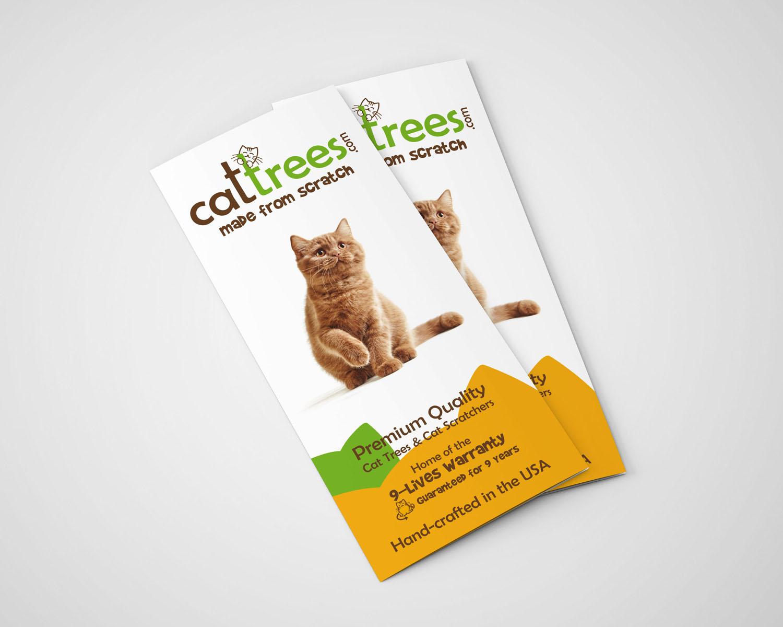 Cat Trees Brochure Design k