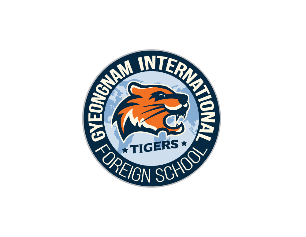 Gyeongnam International Foreign School Logo Design