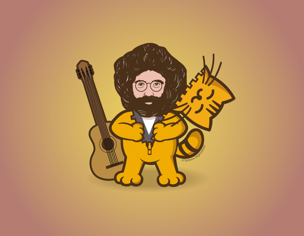 Jerry The Cat - Jerry Garcia
