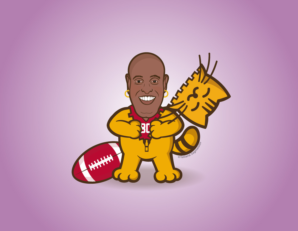 Jerry The Cat - Jerry Rice