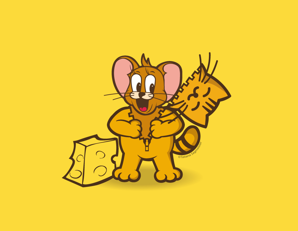 Jerry The Cat - Jerry The Mouse
