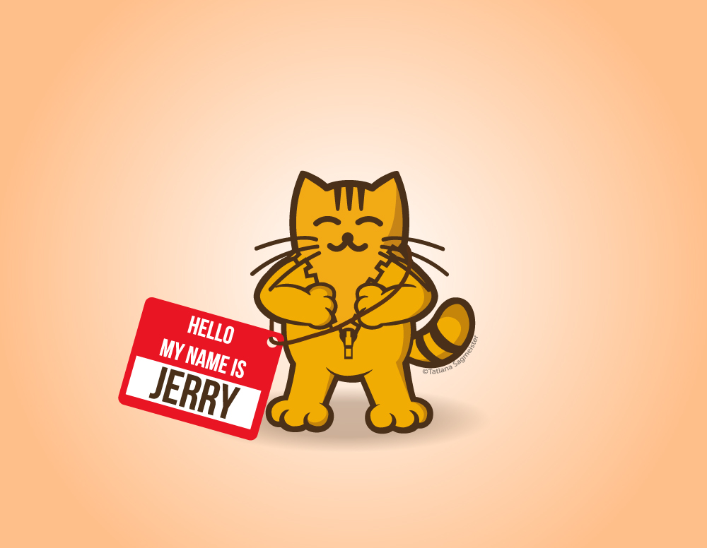 Jerry The Cat - My Name is Jerry