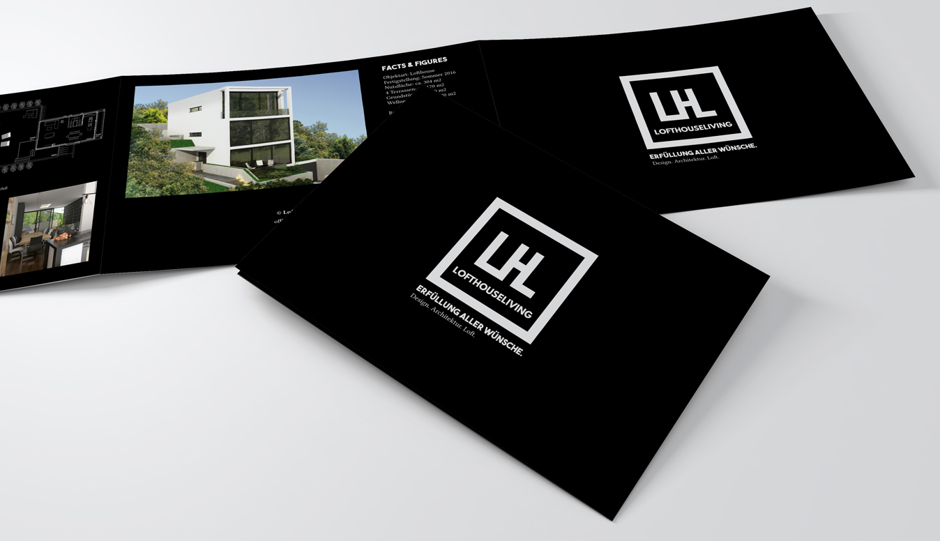Lofthouse Living Brochure Design a