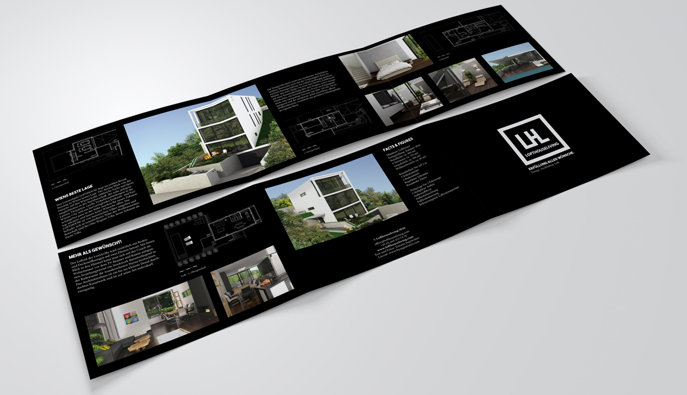 Lofthouse Living Brochure Design b