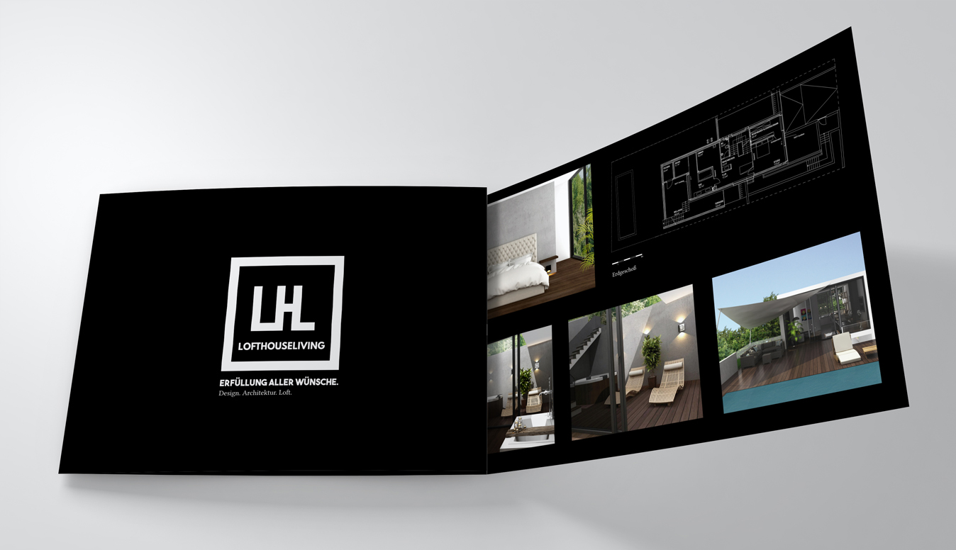 Lofthouse Living Brochure Design c