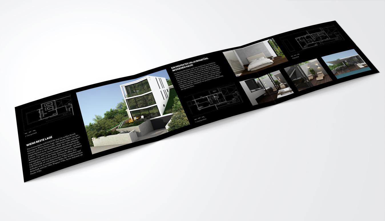 Lofthouse Living Brochure Design