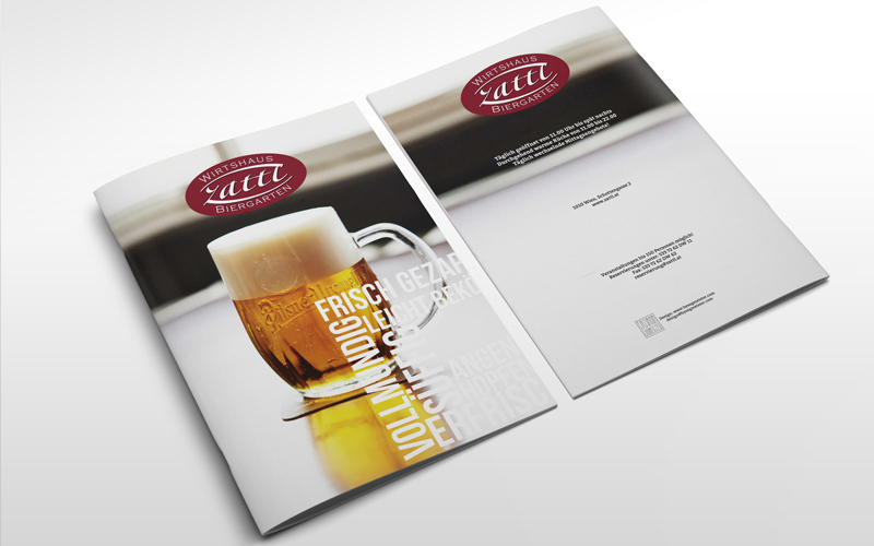 Menu Design Zattl j